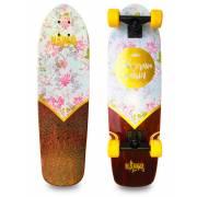 Naked California Flower Deluxe Longboard
