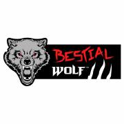 Bestial Wolf Sticker